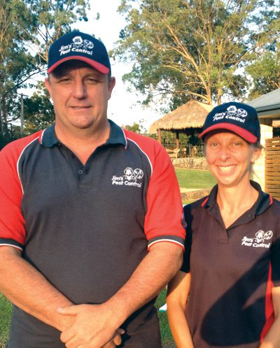 John and Vanessa Grant Jim's Termite and Pest Control Gold Coast Central QLD